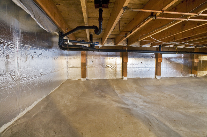 The Invaluable Place Of A Crawl Space Vapor Barrier In